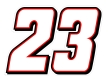 23-number-outline